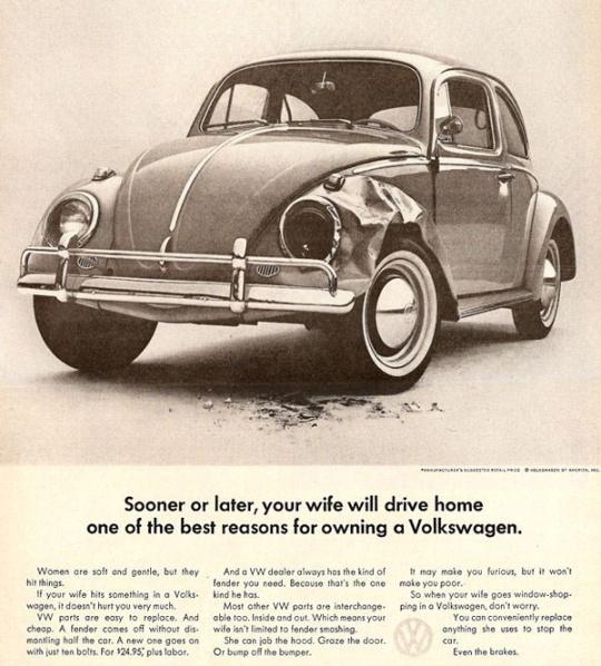 Classic VW ad