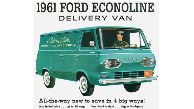 1960 Ford Econoline ad